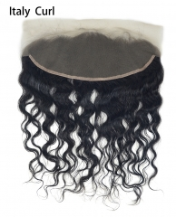 Lace Frontal-Italy Curl-Brazilian Hair