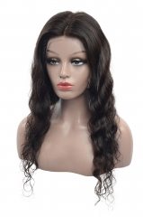 Full Lace Wig-Body Wave-Human hair-Virgin-Peruvian Hair