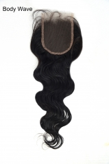 Closure-Body Wave Peruvian Hair
