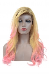 Full Lace Wig-Slight Wave-Human hair-Virgin-Peruvian Hair