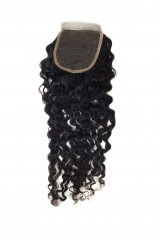 Closure-Deep Wave Peruvian Hair