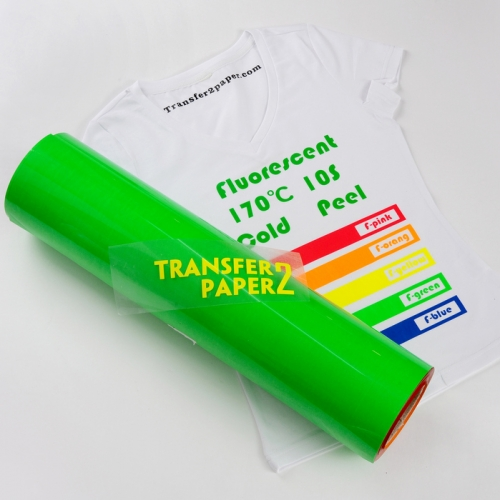 Fluorescence Green Heat Transfer Vinyl