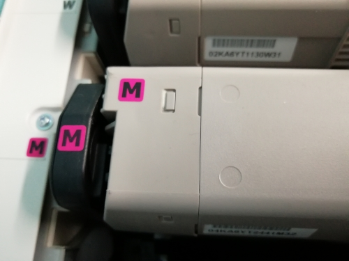 MegentaToner for OKI C711 WT Toner cartridge