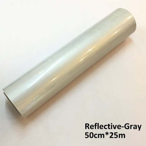 Reflective (white color) Heat transfer vinyl rolls