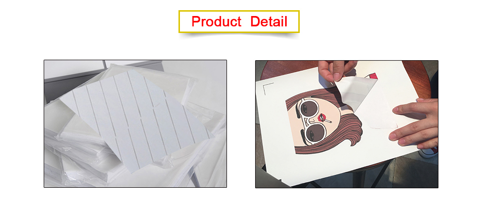 A4 Classical dark t shirt transfer paper for 100% cotton T-shirt