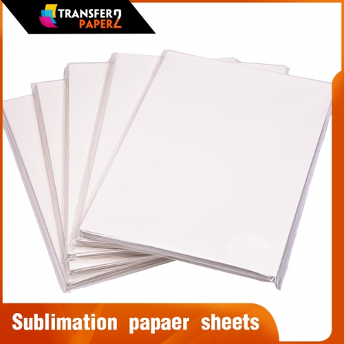 Quick dry sublimation transfer paper sheets for mugs