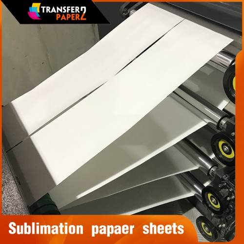 100GSM sublimation transfer paper sheet for Sawgrass