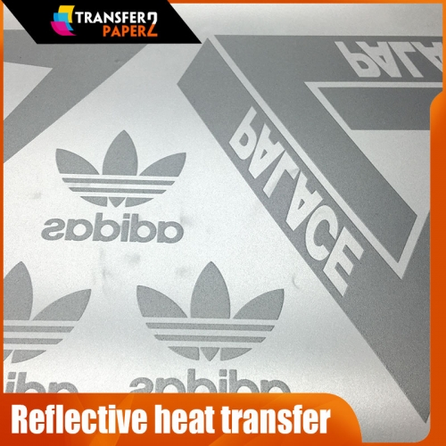 Screen printing reflective heat transfer for tshirt