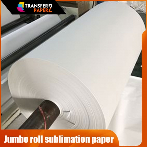 100gsm jumbo roll sublimation transfer paper