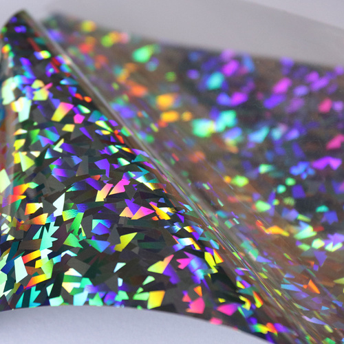Hologram heat transfer vinyl for cad cut vinyl plotters