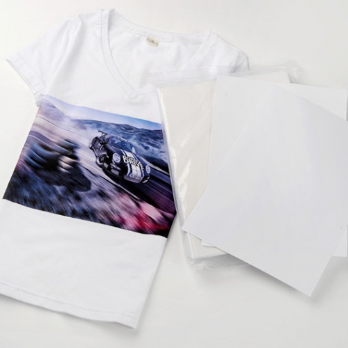 A4 Laser Light t-shirt transfer paper sheets