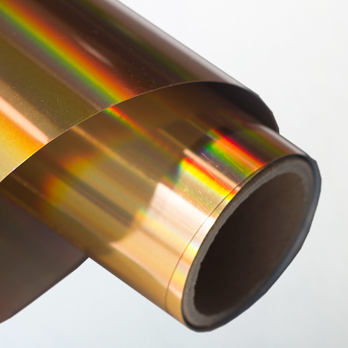 Hologram Heat Transfer Vinyl(Golden)