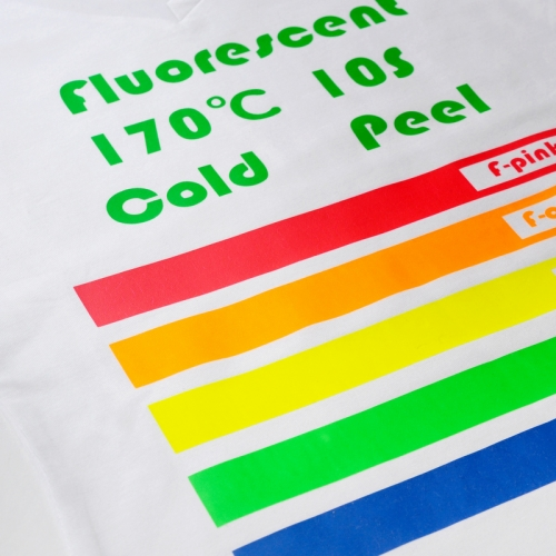Fluorescent Heat Transfer Vinyl