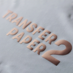 PU Heat Transfer Vinyl (Rose Golden)