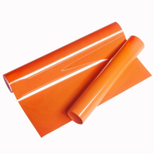 PU Heat Transfer Vinyl (Orange)