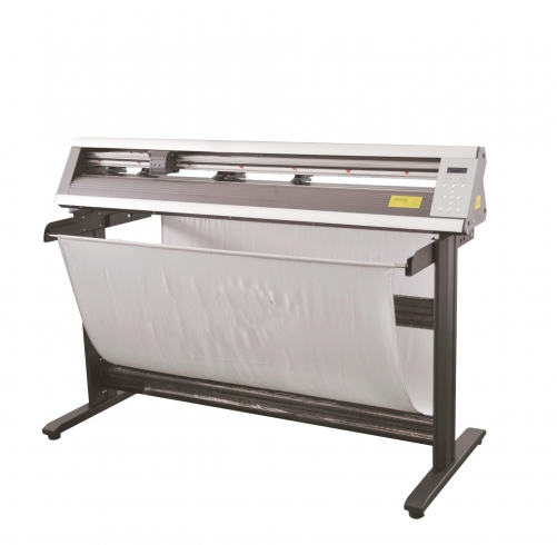 Transfer2paper 1350A cutter plotter for heat transfer vinyl and transfer paper.
