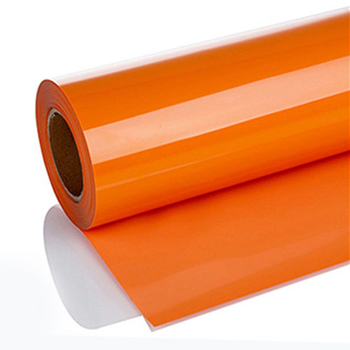 Environmental Friendly PVC Heat Transfer Vinyl (Orange)