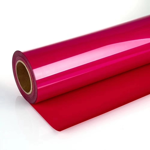 Environmental Friendly PVC Heat Transfer Vinyl (Glossy Red)