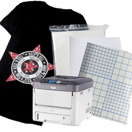 A3 Laser Dark t-shirt transfer paper sheets