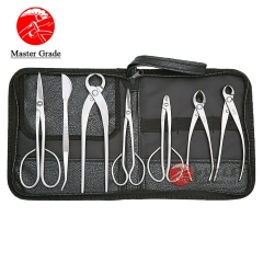 Master Grade 7 PCS Bonsai tool set JTTK-03 From TianBonsai