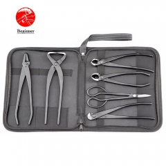 Beginner Bonsai tool kit 6PCS BBTK-01 jin plier trunk splitter branch cutter knob cutter wire cutter scissors standard quality