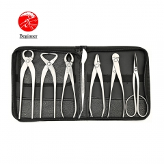 Beginner Grade 7 PCS Bonsai tool set (kit) BBTKS-05 From TianBonsai