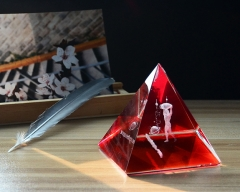 Red Crystal Pyramid ...
