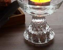Nice Glass Bowl Candle Holder For Home Decoration