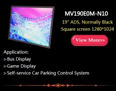 Low MOQ original large size TFT-LCD display in stock