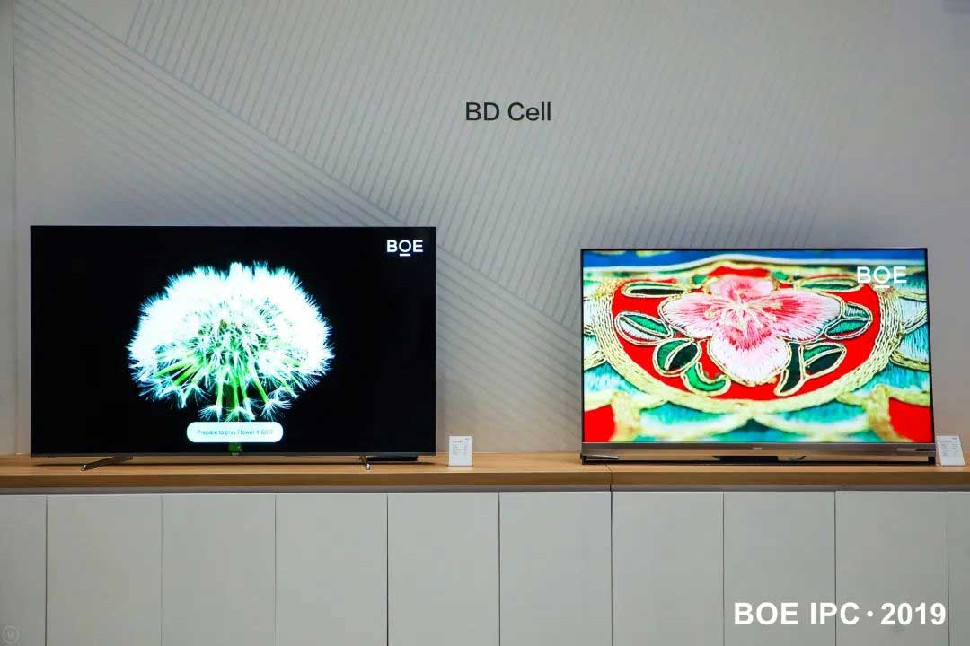 BOE 65-inch BD Cell Display Wins SID Display Product Of The Year Award