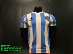 1986 Argentina home soccer jersey football shirts