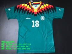 Retro Vintage 1994 FIFA World Cup Germany Away soccer jersey