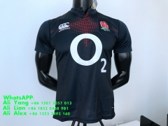 2016/2017 England away ROYAL BLUE rugby jersey