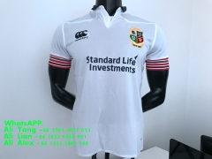 2017 British & lrish lions away white rugby jersey