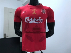 2005 Liverpool Retro home jersey