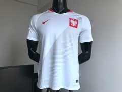 2018 world cup Poland home white soccer jersey
