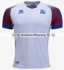 2018 World cup Iceland away white jersey