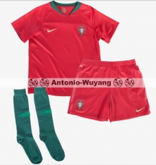 2018 Portugal jersey home red world cup KIDS CHILD soccer football shirts