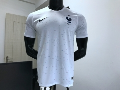 2018 World cup France away white soccer jersey