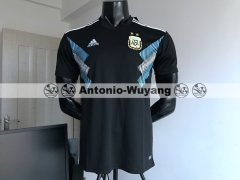 Argentina AWAY BLACK soccer Jersey 2018 world cup