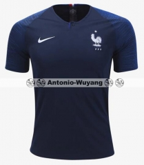 2018 World cup France home blue jersey