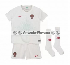 2018 Portugal jersey away world cup KIDS CHILD soccer football shirts