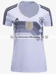Fans version 2018 World cup Germany home women jersey Deutschlan OZIL GOTZE REUS KROOS NEUER futebol camisetas de futbol 17/18 PERSONALIZED