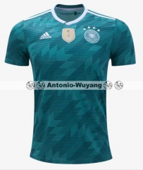Fans version 2018 World cup away Germany jersey Deutschlan OZIL GOTZE REUS KROOS NEUER futebol camisetas de futbol 17/18 PERSONALIZED
