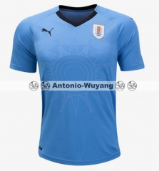 2018 world cup Uruguay home blue jersey fans version