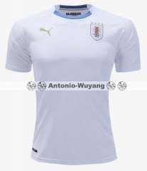 2018 world cup Uruguay away white jersey fans version