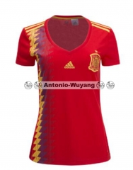 2018 World cup Spain jersey women girl