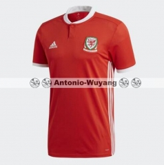 2018 world cup Wales home red jersey fans version