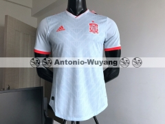 Player versio 2018 World cup Spain jersey away white
