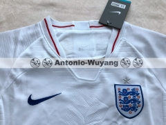 Fans version England home white kids youth chils jersey